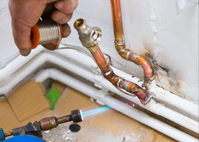 pipe repair princeton